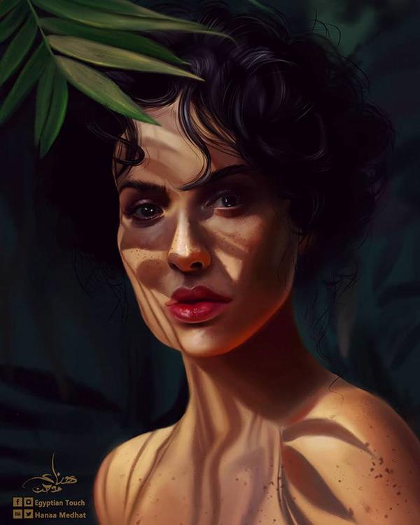 Amazing Digital Paintings By Hanaa Medhat - 16