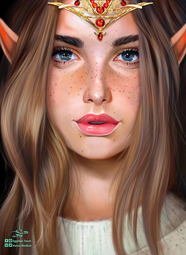 Amazing Digital Paintings By Hanaa Medhat - 18