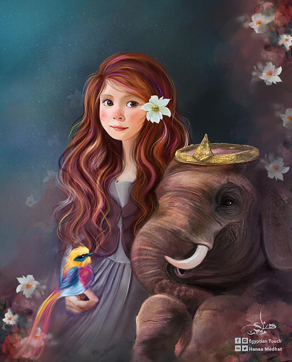 Amazing Digital Paintings By Hanaa Medhat - 3