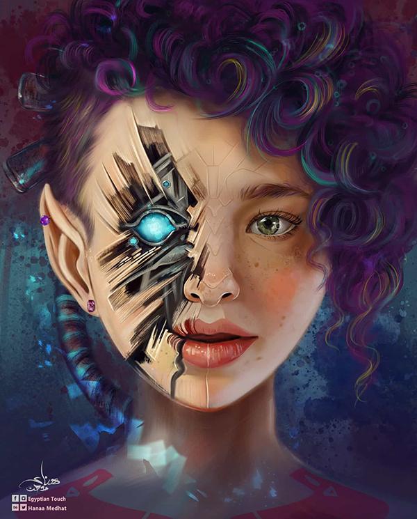 Amazing Digital Paintings By Hanaa Medhat - 7
