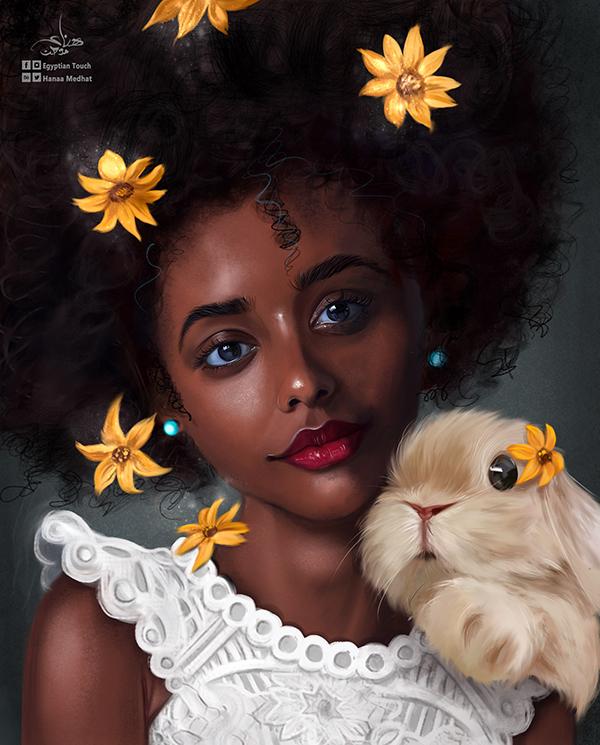 Amazing Digital Paintings By Hanaa Medhat - 9