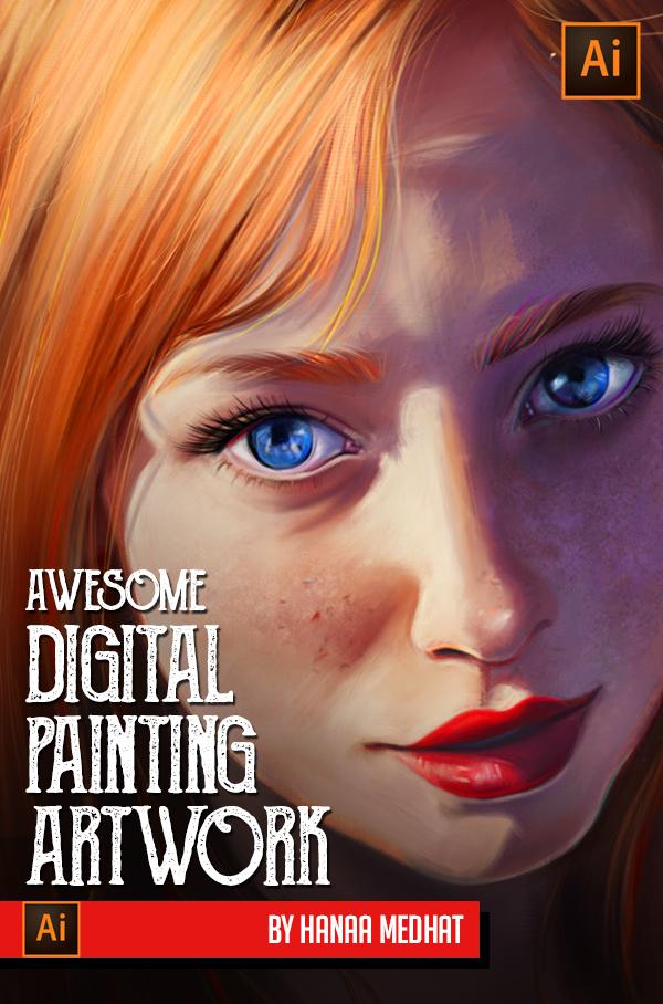 Amazing Digital Paintings By Hanaa Medhat