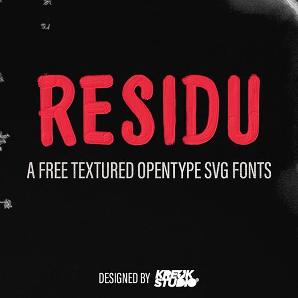 Residu Free Font