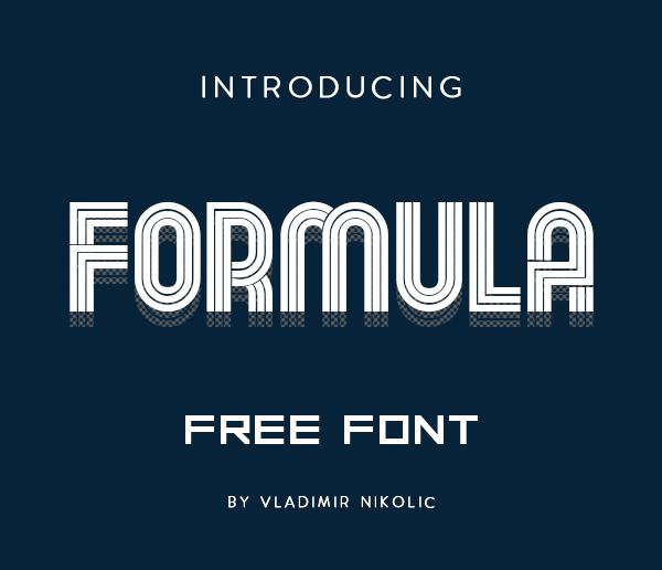 Formula Free Font