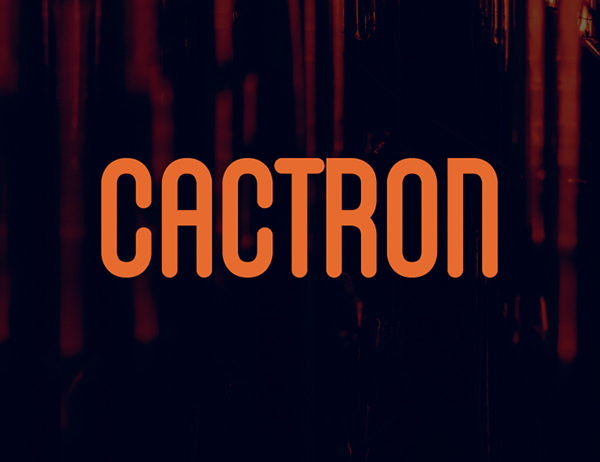 Cactron Free Font