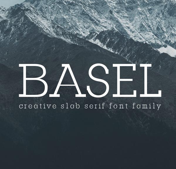 Basel Free Font