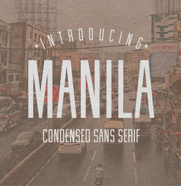 Manila Free Font