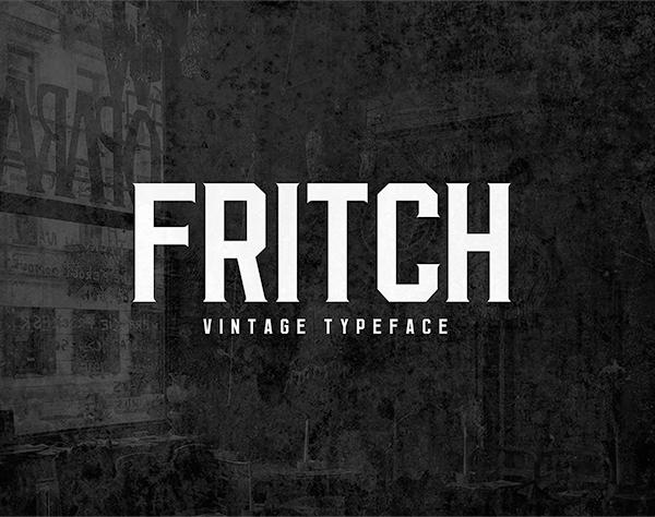 Fritch Free Font