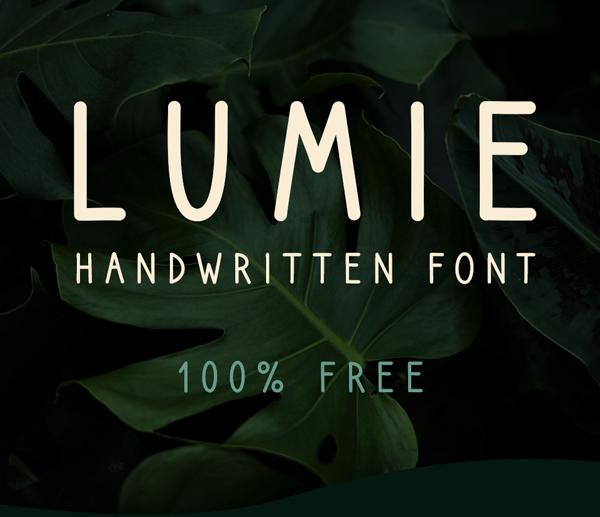 Lumie Free Font