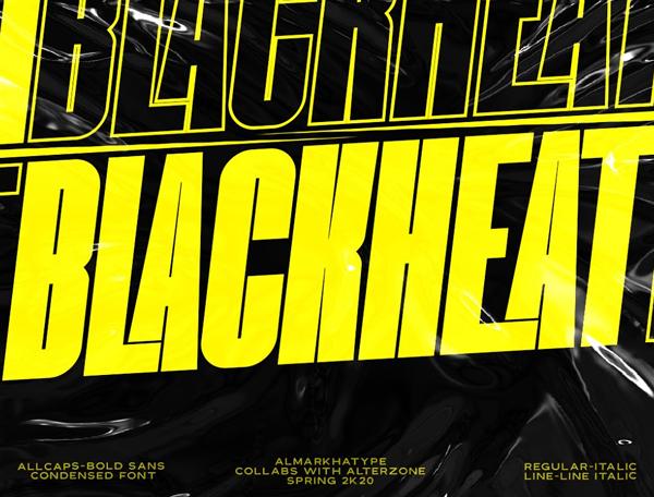 Blackheat Free Font