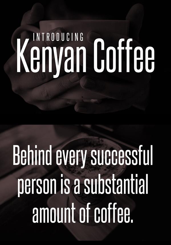 Kenyan Coffee Free Font