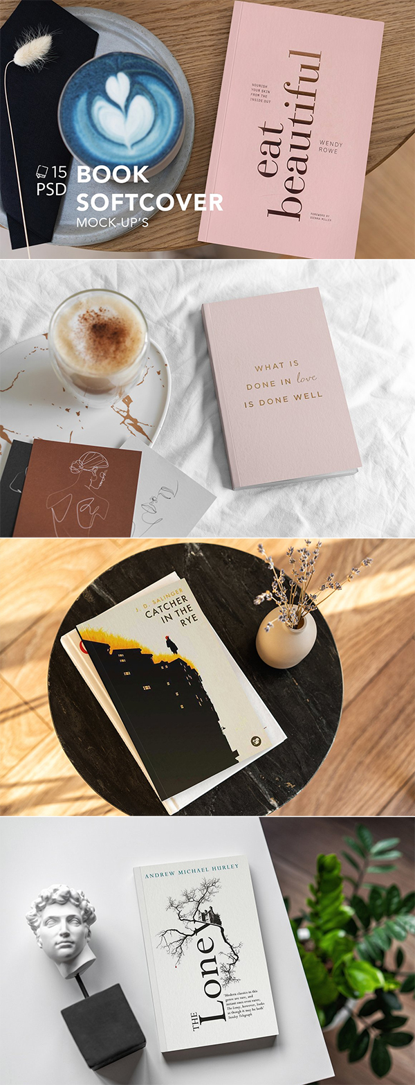 Book Softcover MockUp