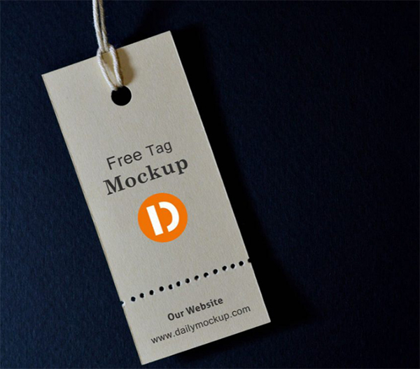 Free Tag Mock-up