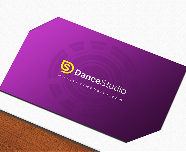 Free premium business card mock-up