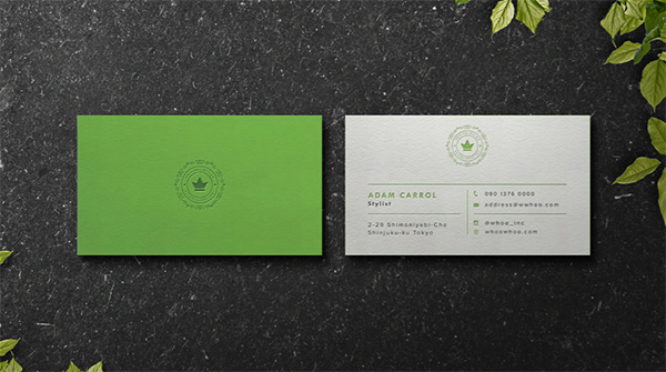 Free business cards mockup Psd Download