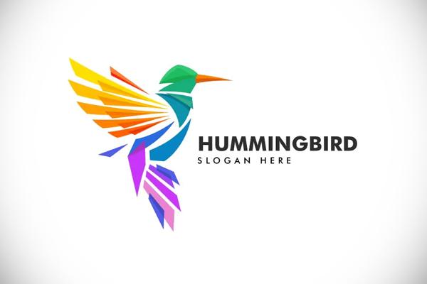 Hummingbird Colorful Logo