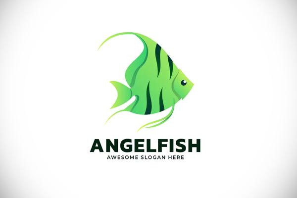 Engelfish Gradient Colorful Logo