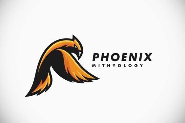 Bird Phoenix Eagle Mascot Logo