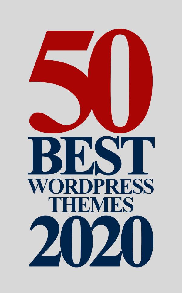 50 Most Popular Best WordPress Themes