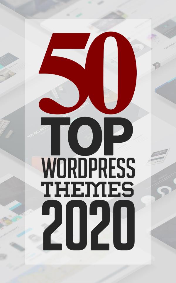 50 Top WordPress Themes Of 2020