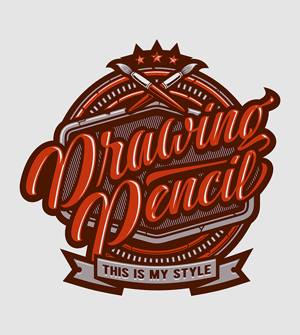 Drawing Pencil - Hand Lettering Quote