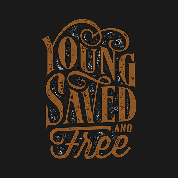 Young saved and free