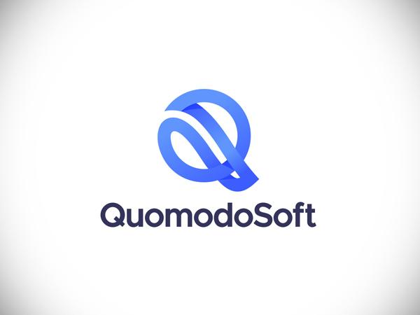 Quomodosoft logo design
