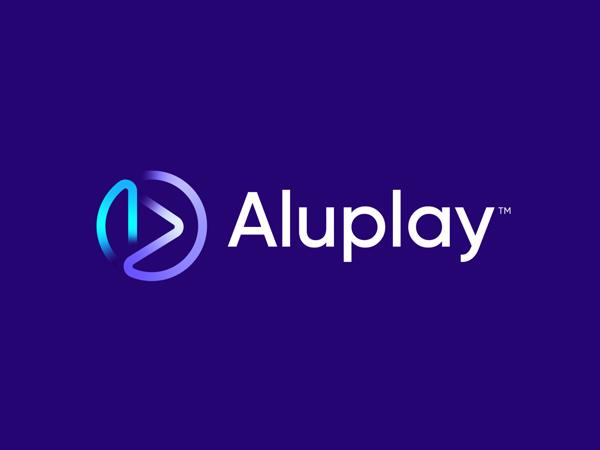 A + P for Aluplay | modern logo design