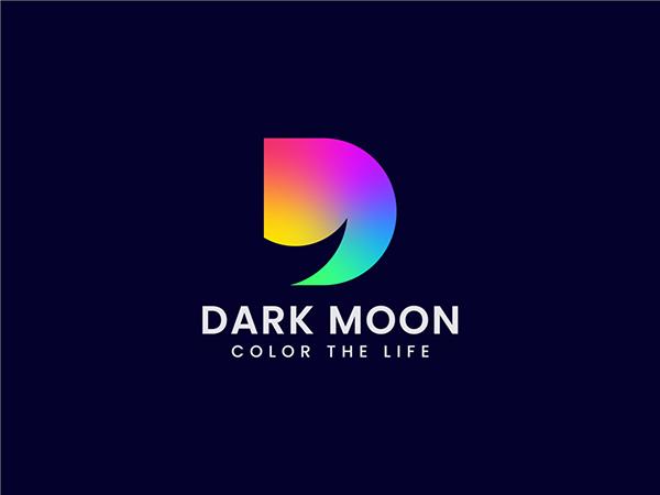 Dark Moon Logo Design