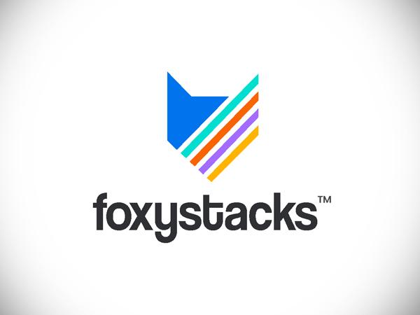Foxystacks Logo Design