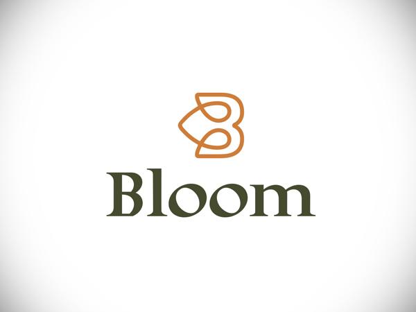 Bloom Vintage Style Logo