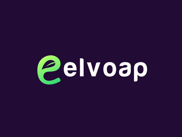 Modern (e+plant) logo concept for elvoap