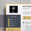 Post thumbnail of 20+ Professional Resume Templates with Cover Letter