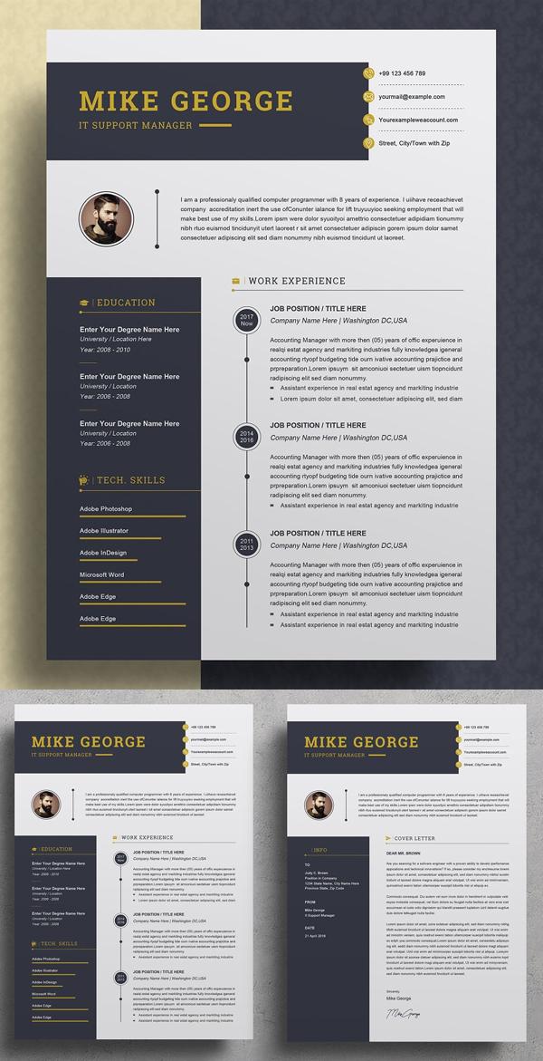 Aesome Creative Word Resume / CV