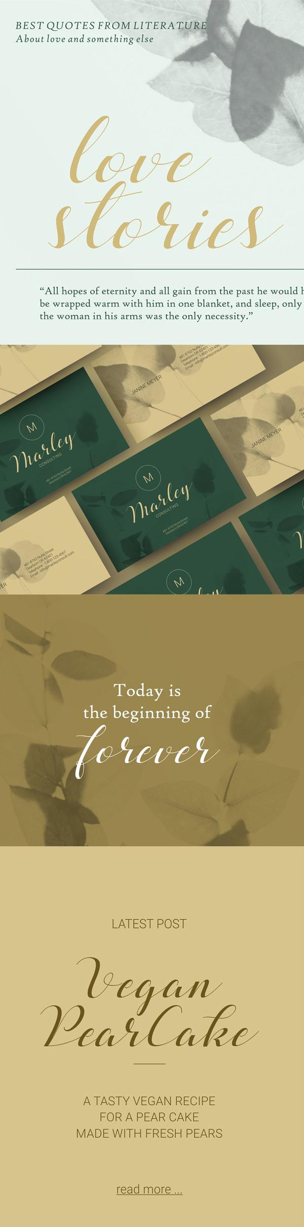 Beloved Romantic Script Font Letters