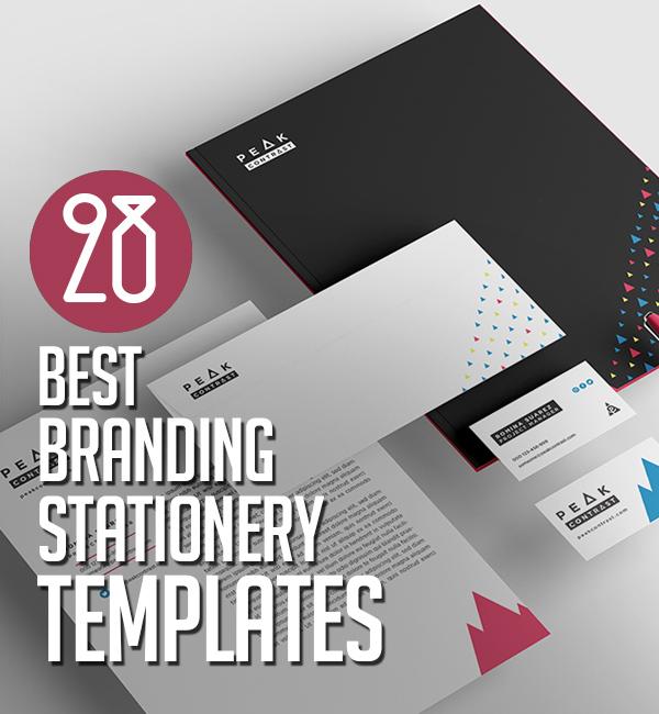 28 Professional Branding / Stationery Templates Design