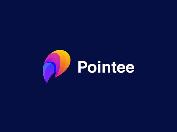 Pointee Colorful Logo Design