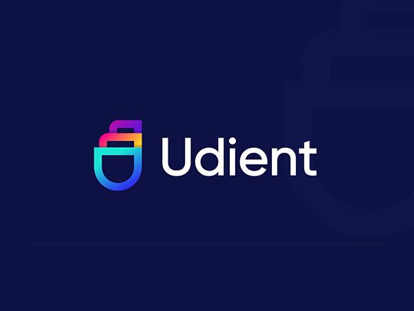 U Letter Colorful Logo Design
