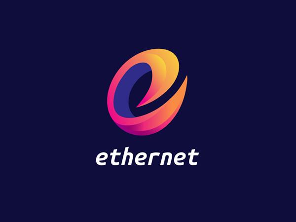 Ethernet Colorful Logo Design