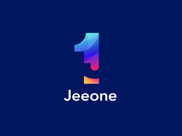 Negative Space Colorful Logo Design
