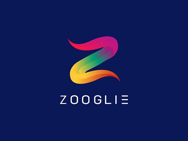 Colorful Z Letter Mark Logo Design