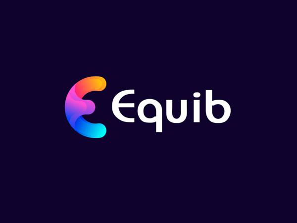 Colorful E Letter Logo Design