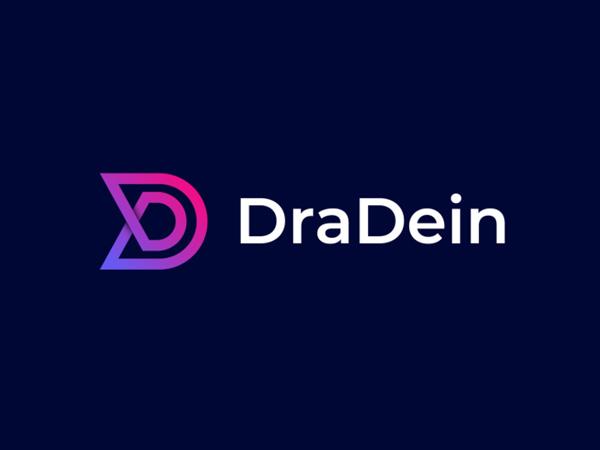Colorful DD Letter Logo Design