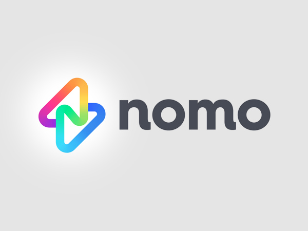 Nomo Colorful Logo Design