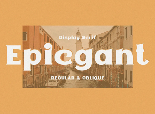 Epicgant  Free Font