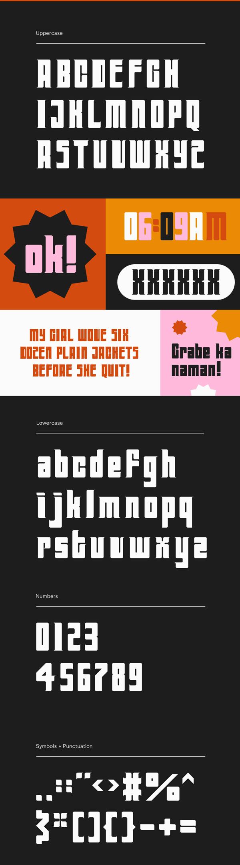 Far Out Font Letters