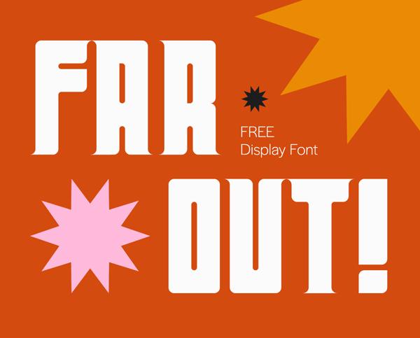 Far Out Free Font