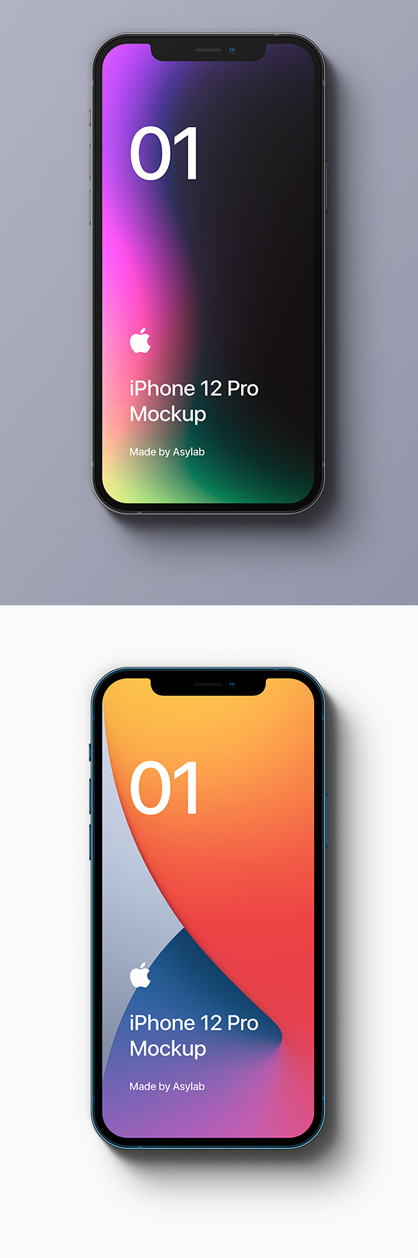 iPhone 12 Pro Free Mockup - PSD