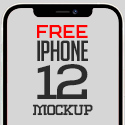 Post thumbnail of Free Mockups: iPhone 12, iPhone 12 Mini and iPhone 12 Pro Max Mockup