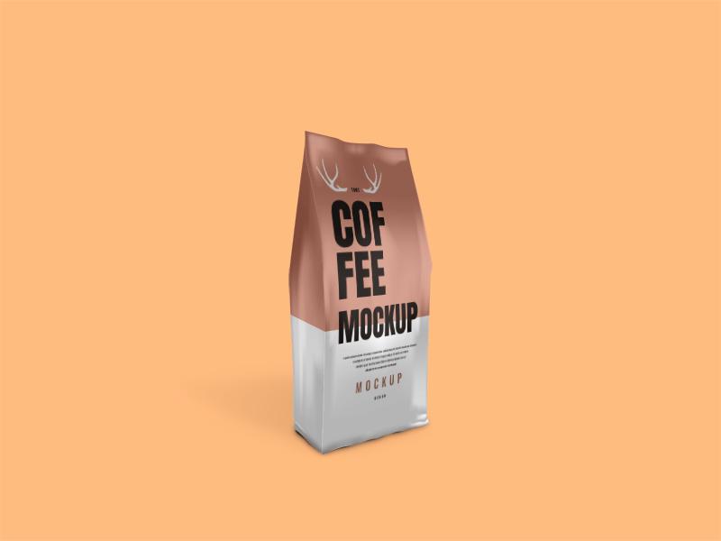 Coffee Bag PSD Mockup
